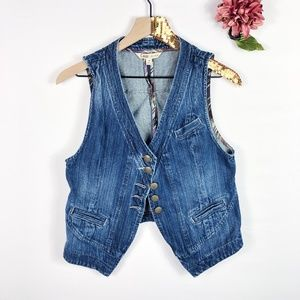 [CABI] Denim Blue Jean Vest